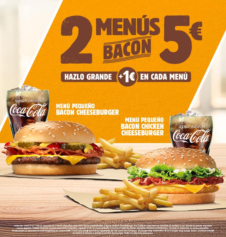 Vuelve 2 menús por 5€!!