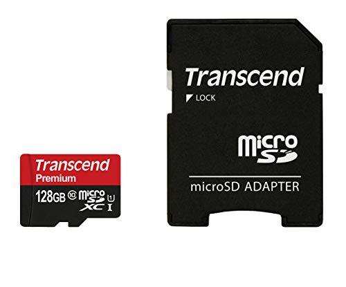 Transcend - Tarjeta microSD 128