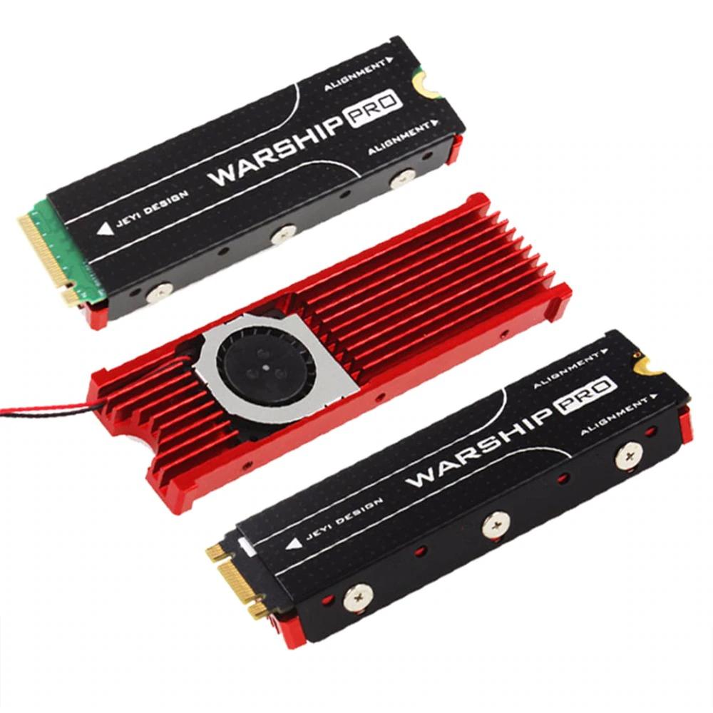 Disipador con ventilador para SSD M.2