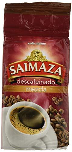 Saimaza - Cafe Molido de tueste natural, Descafeinado, 250G - [Pack de 4]