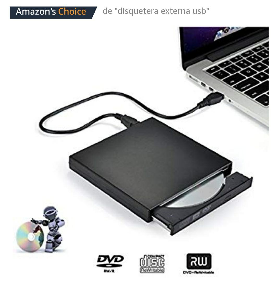 Grabadora/ lector DVD y CD