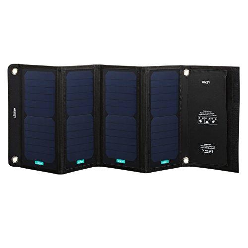 Placa Solar Aukey 28W solo 14.9€