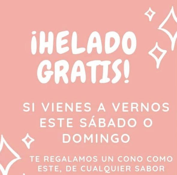Helado GRATIS - Heladería Mon & Peny - Madrid