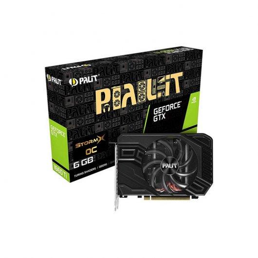 Palit GeForce GTX 1660Ti StormX OC 6GB GDDR6