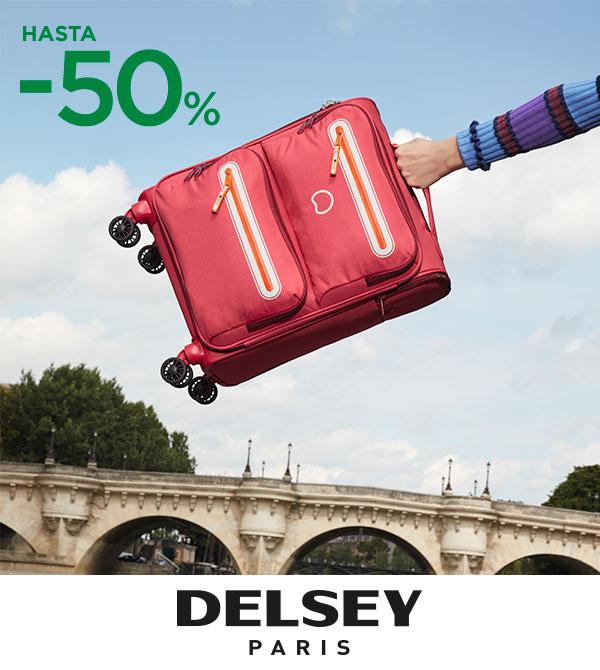50% en Maletas Delsey