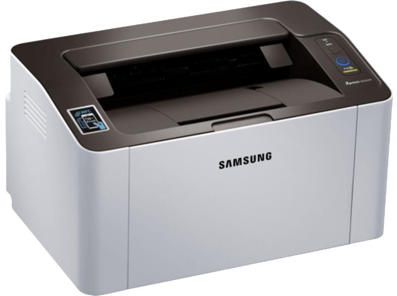 Impresora láser - Samsung SL-M2026W, Monocromo, 20ppm, WiFi, USB, Plata
