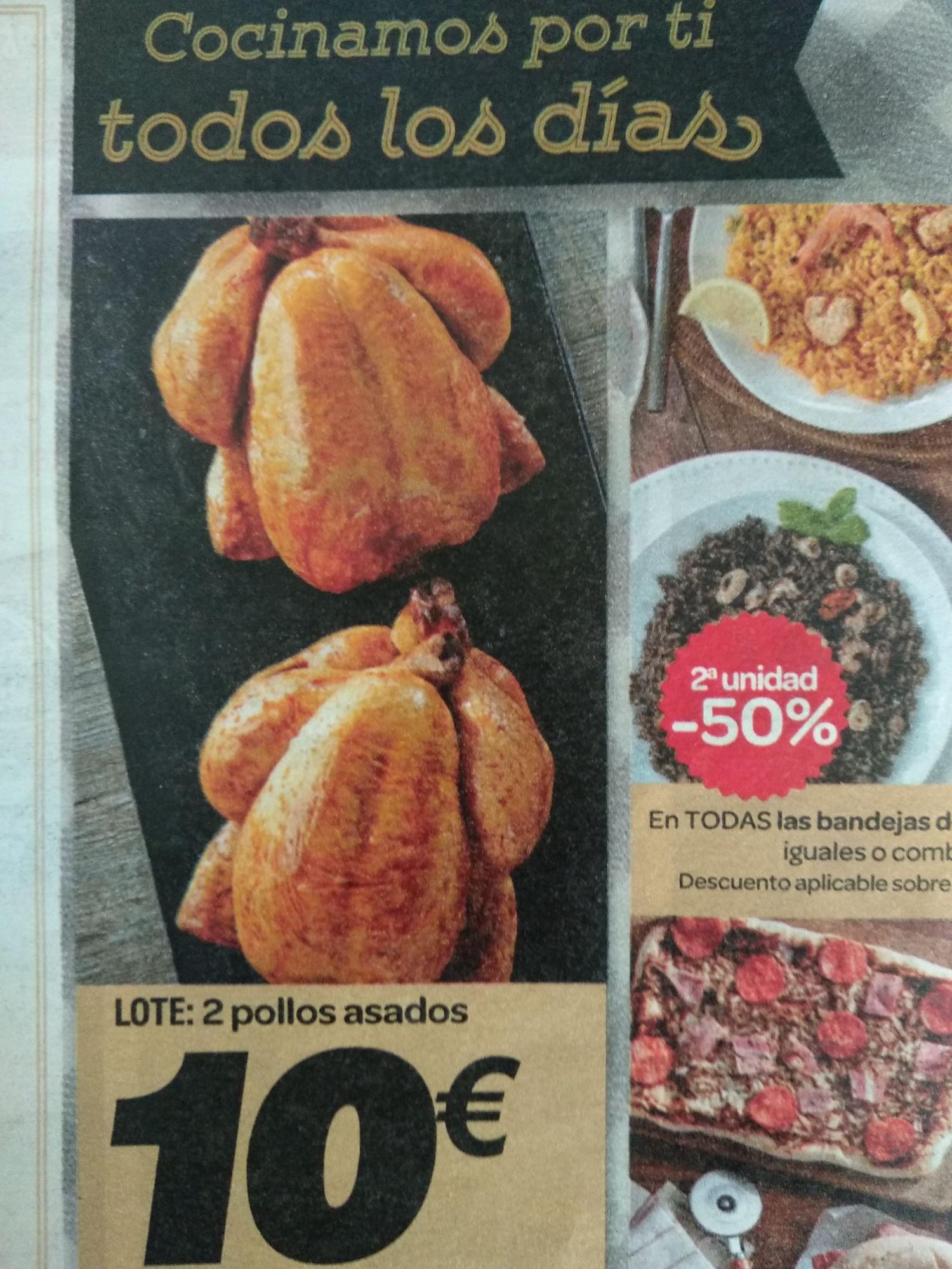 Pollos baratos y buenos