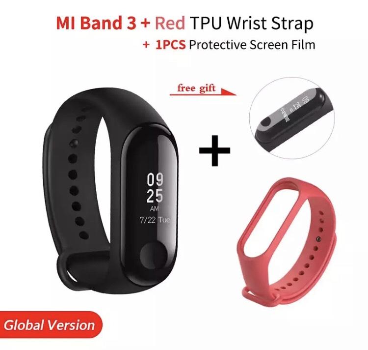 Mi Band 3 + pulsera + protector pantalla por 18,6€ desde España