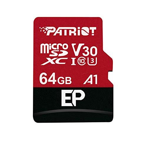 Patriot - Tarjeta microSD SDXC 64GB