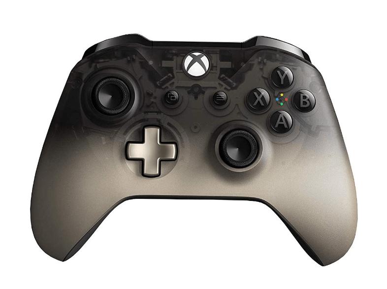 Mando Microsoft Phantom Black Edición Especial Xbox One