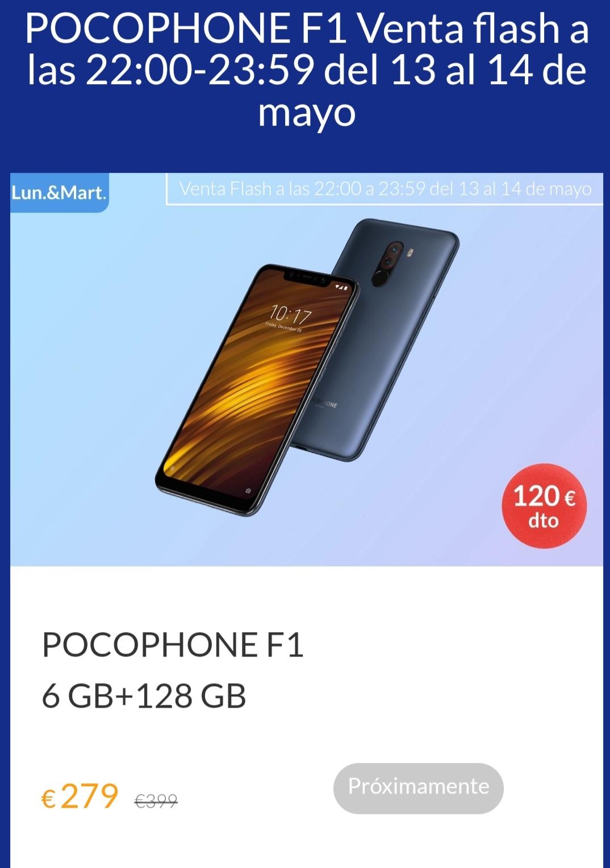 Xiaomi Pocophone F1 6 GB+128 GB