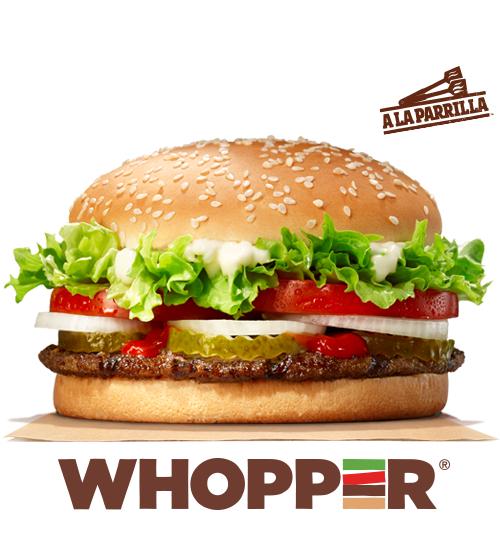 Solo hoy Whopper por 1.99€