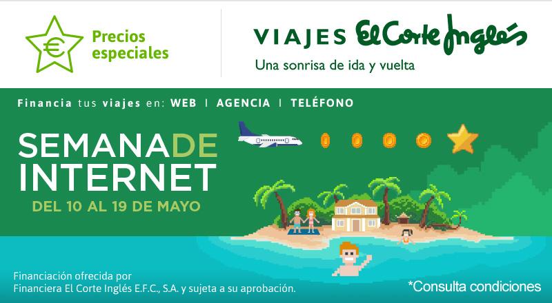 Semana de Internet, El Corte Inglés hasta un 50% de Descuento!