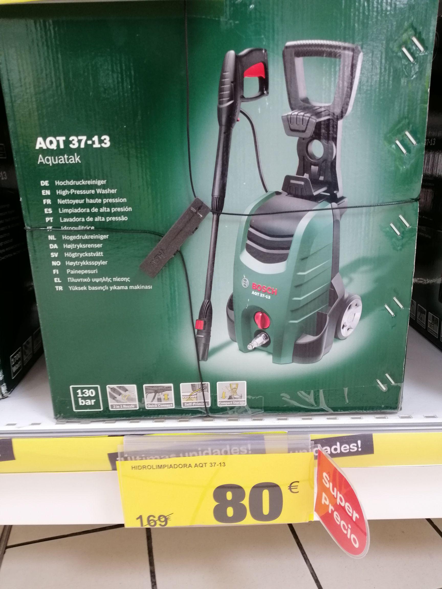Hidrolimpiadora Bosch AQT 37-13