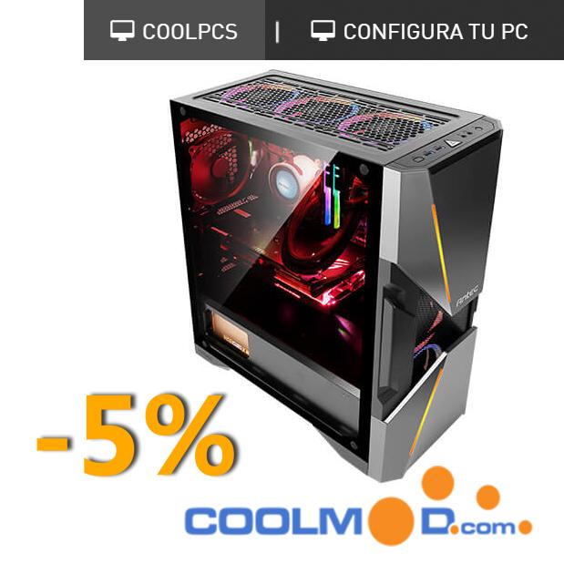 Descuento 5% en CoolPC - Coolmod.com