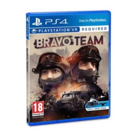 Juego PS4 vr Bravo team