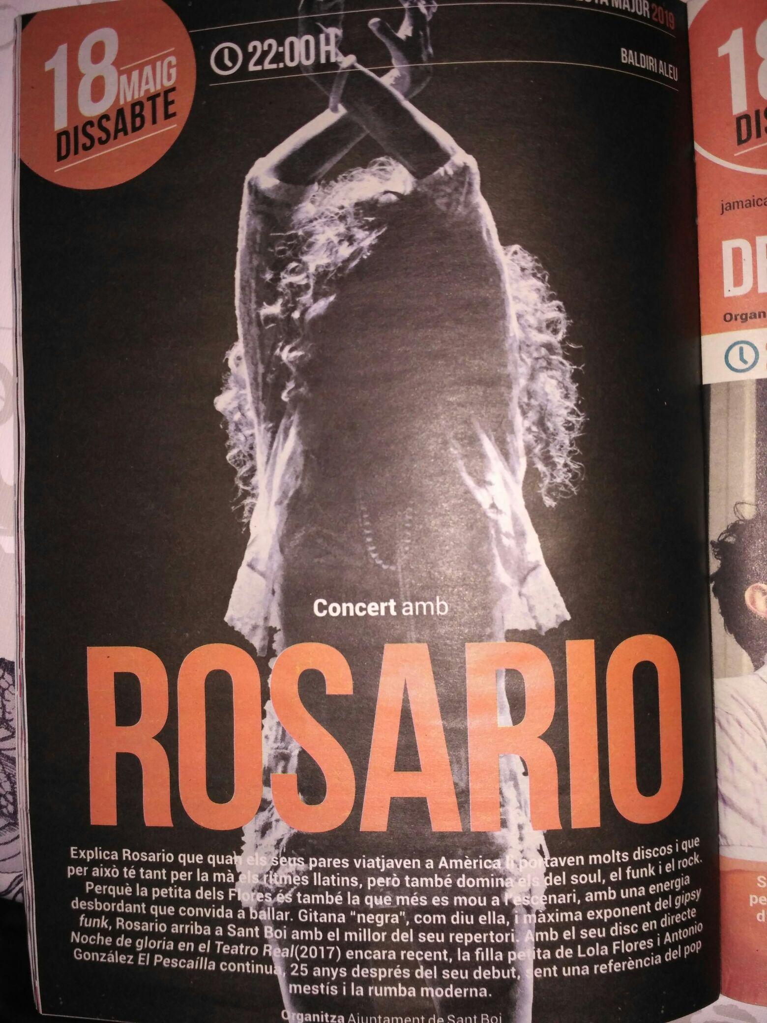 Concierto de Rosario Flores