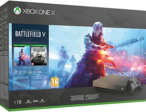 Xbox One X - Consola 1 TB + Battlefield V