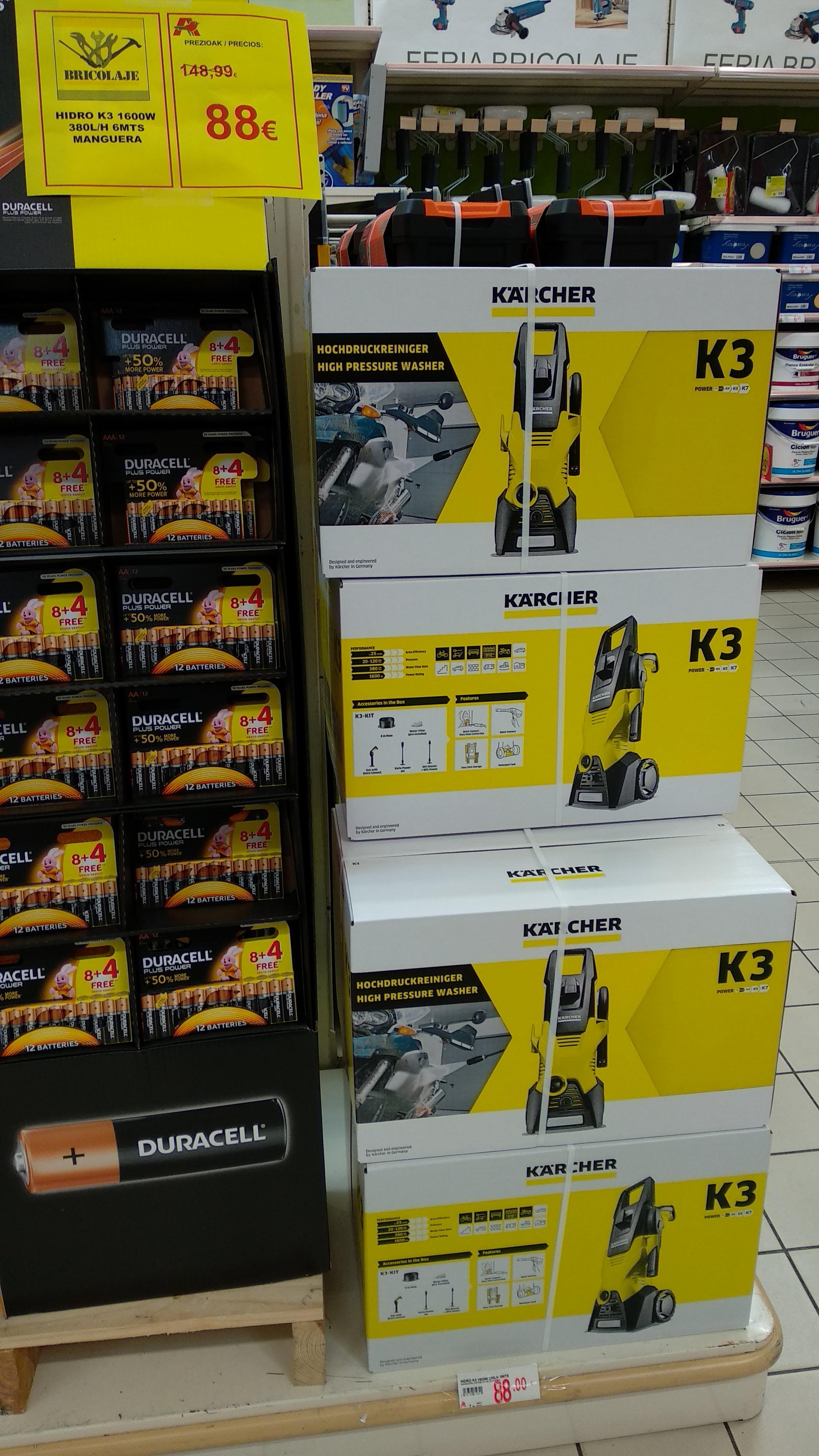 Karcher K3 1600W en Alcampo (Local y web)