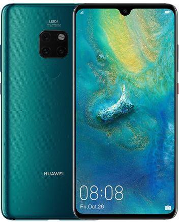 Huawei Mate 20 6/64GB tres colores disponibles (mínimo histórico)