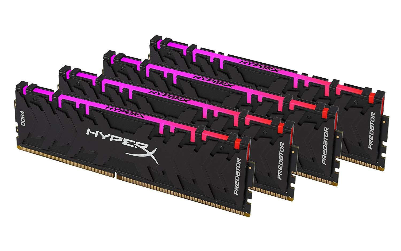 HYPERX PREDATOR RGB DDR4 32 GB (4x8GB) 2933Mhz CL15