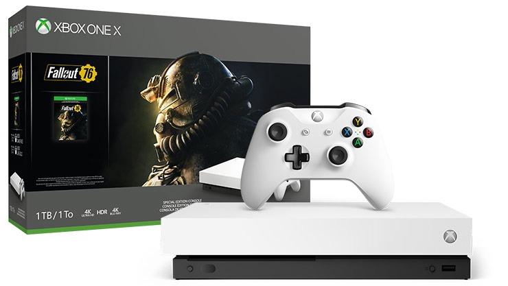 Xbox One X Blanca + Fallout MediaMarkt (En tienda Física)