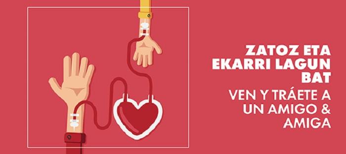 GRATIS dos entradas al Eureka! Zientzia Museoa por donar sangre (Gipuzkoa)