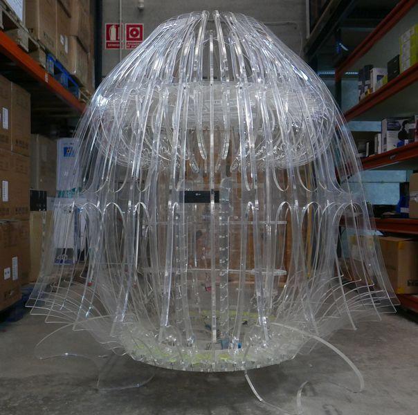 Chuskoi Medusa Metacrilato - Caja/Torre