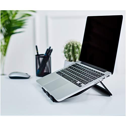 "Soporte plegable de aluminio para ordenador portátil de hasta 15"""