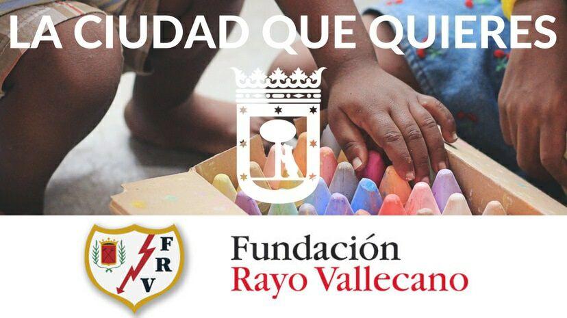 Gratis campamento de fútbol Fundación Rayo Vallecano Verano 2019