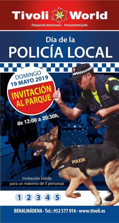 Tívoli World Benalmádena: 19 Mayo puertas abiertas por el Día de la Policía Local