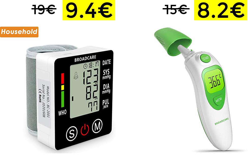 Tensiómetro y Termómetros a preciazos