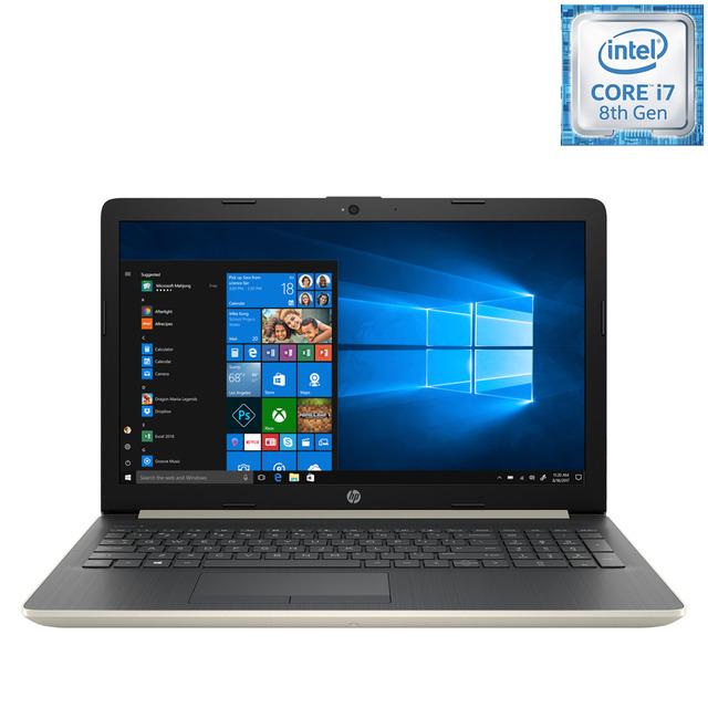 Portátil HP 15-da0081ns, i7, 12 GB, 1 TB HDD, GeForce MX130 4 GB