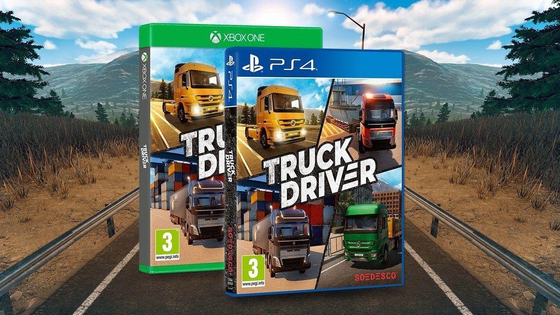 Truck Driver Xbox One / PS4 simulador de camiones + 10€ gratis próxima compra (preventa)