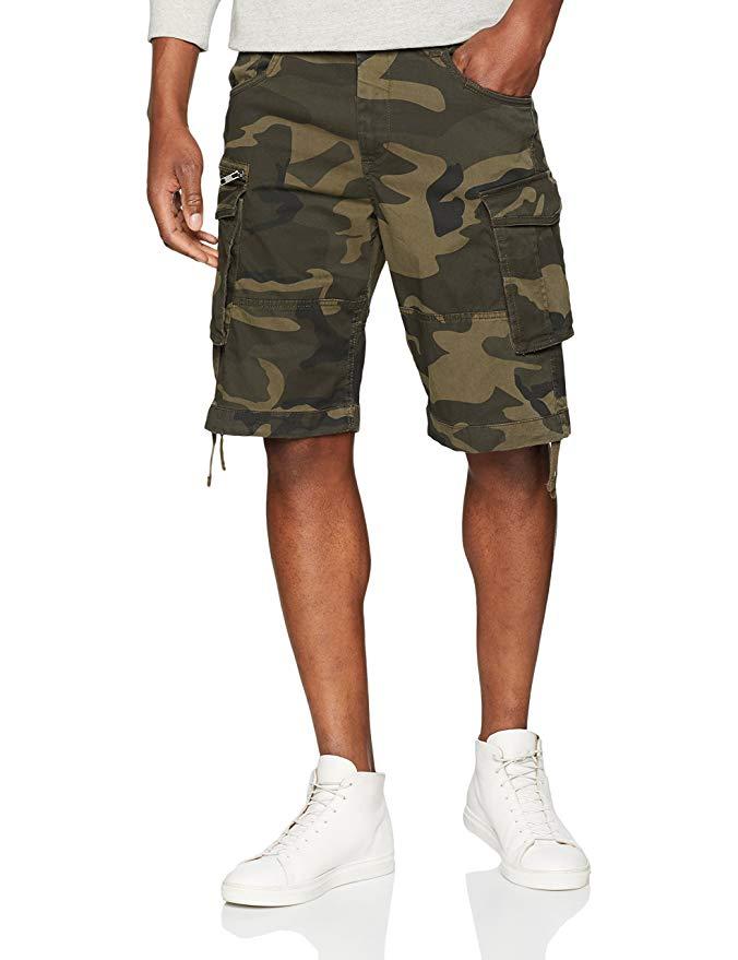Pantalones cortos de camuflaje Jack & Jones