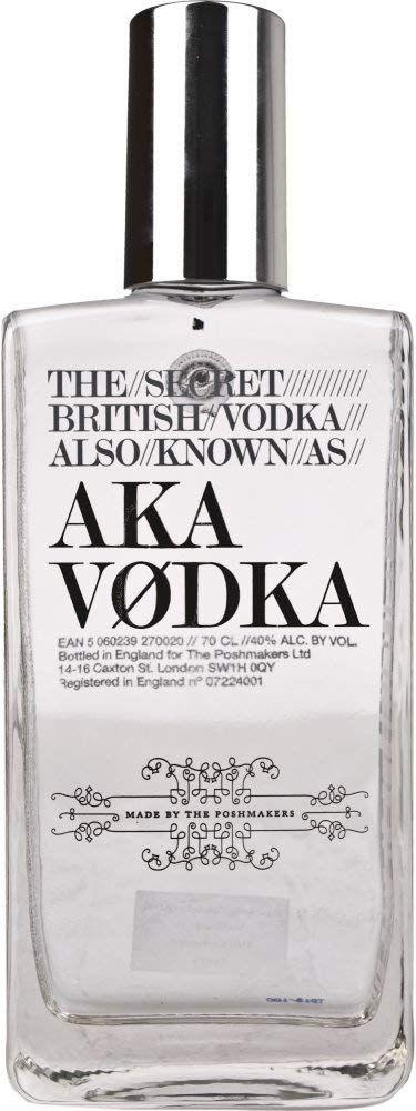 Vodka AKA (The Secret British Vodka) - 700 ml.