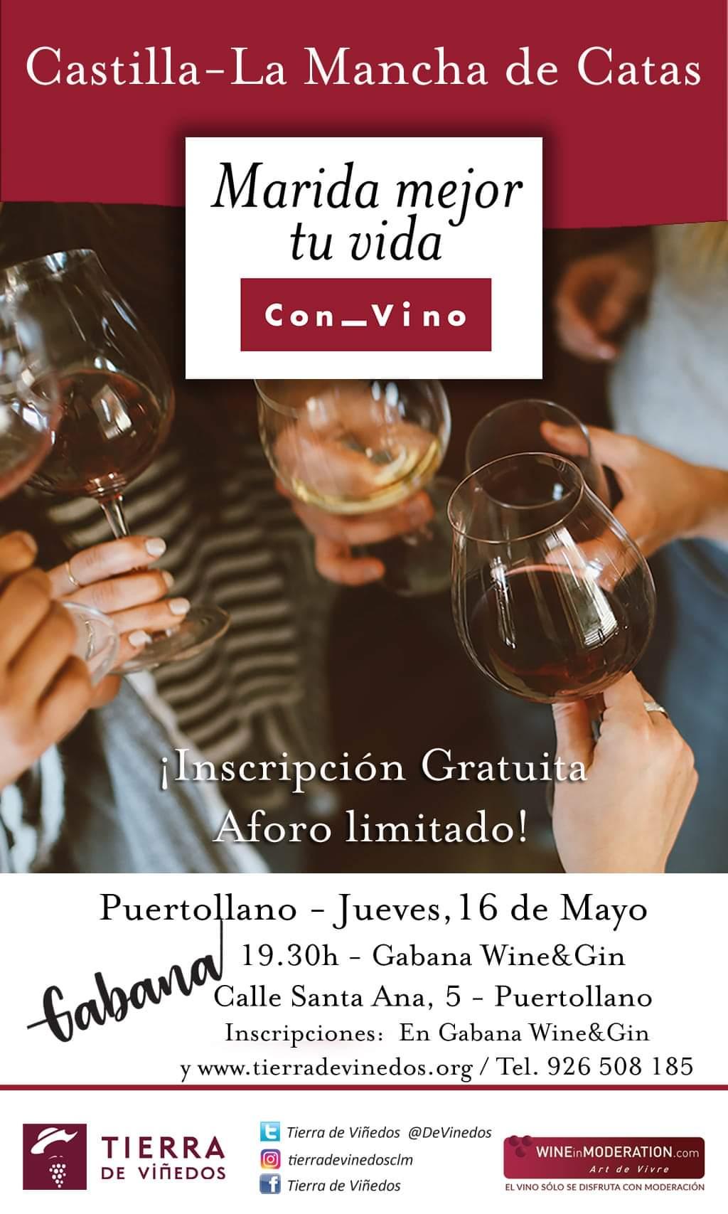 Catas de vino gratuitas por toda Castilla la Mancha