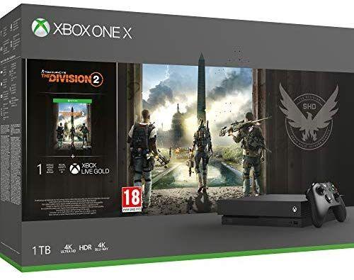 Xbox One X - Consola 1 TB + División 2
