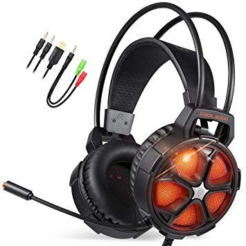Auriculares gaming micrófono solo 10.9€