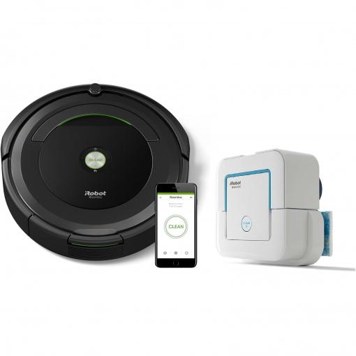 Roomba 696 + braava jet