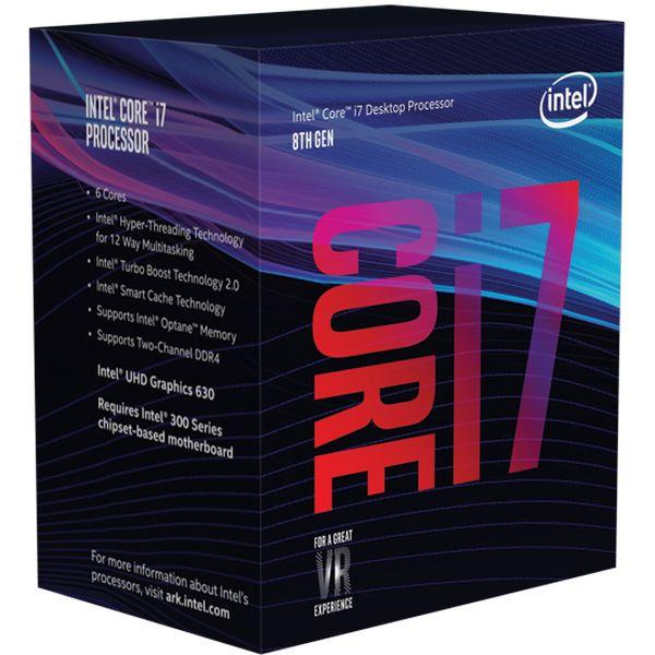 Intel Core i7-8700K 4.7 Ghz Socket 1151 Boxed