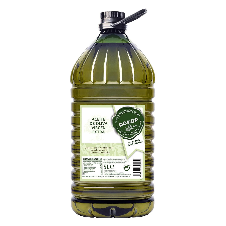 Aceite de oliva virgen extra Dcoop garrafa 5L