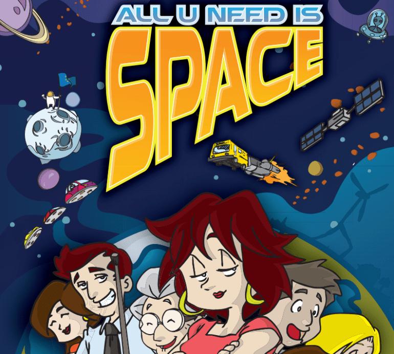 Libro del espacio en papel