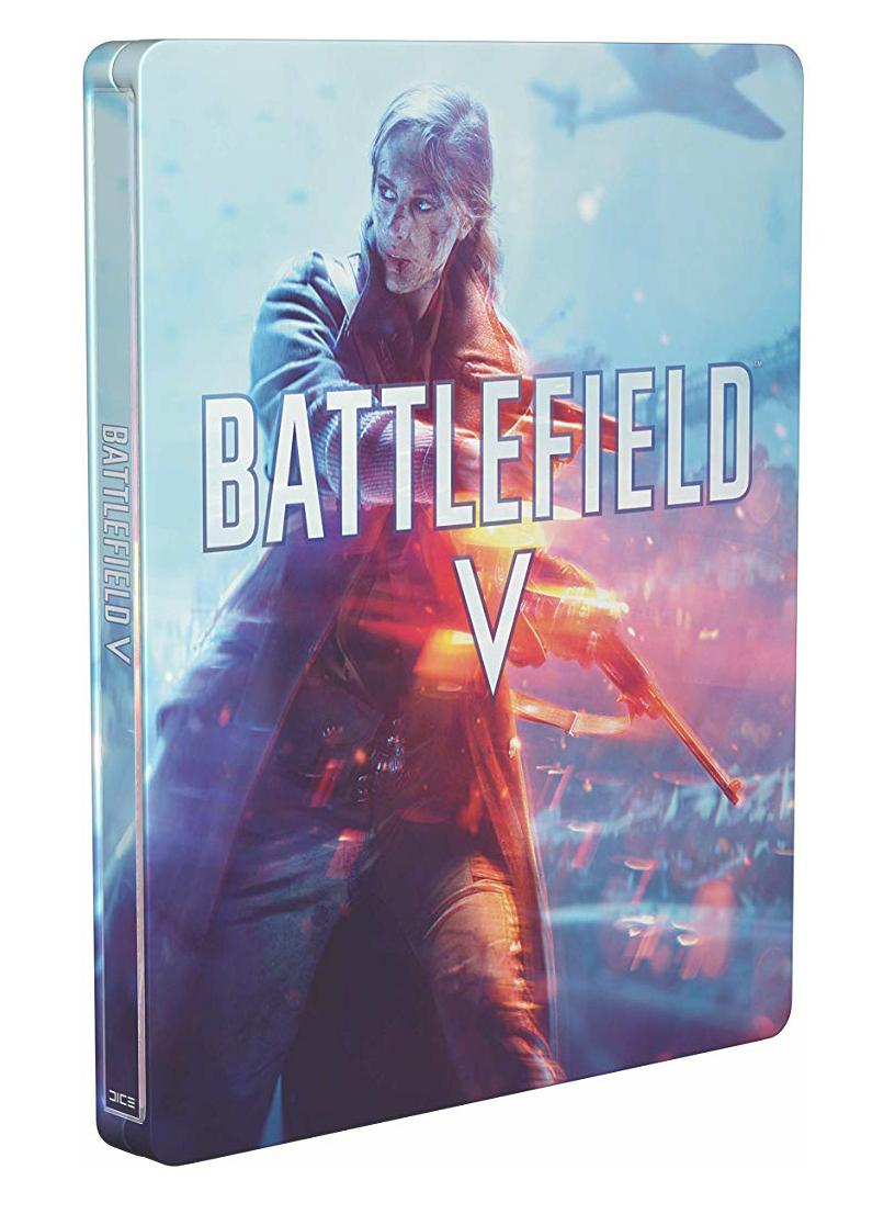 Steelbook Battlefield V (sin el juego)