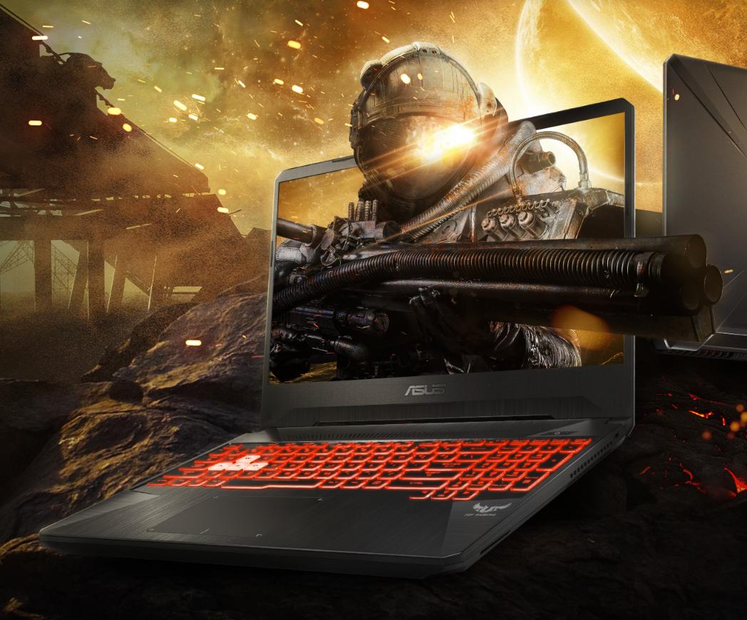 "Asus TUF Gaming FX505GD i7-8750H / GTX 1050 4GB / 8GB DDR4 / 1TB / 15.6"" IPS / Windows 10"