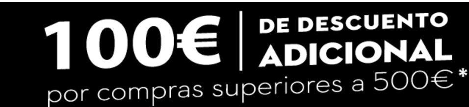 100€ DESCUENTO por compra superior a 500€ en CONFORAMA (Articulos seleccionados)