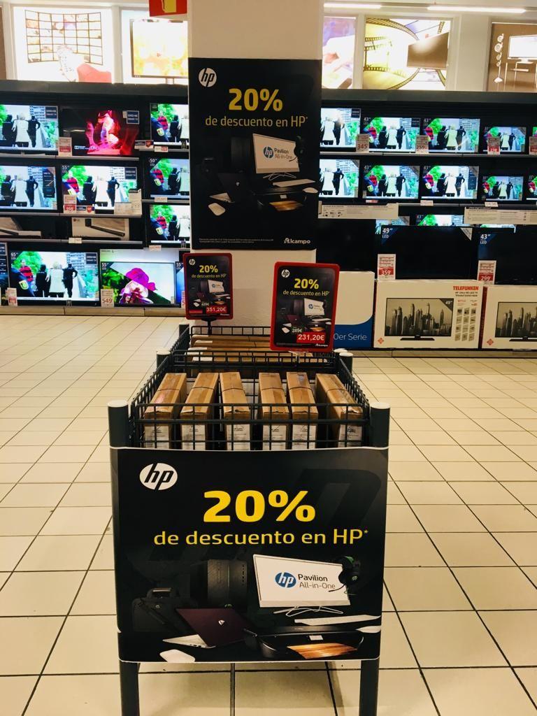 20%  Descuento HP en Alcampo