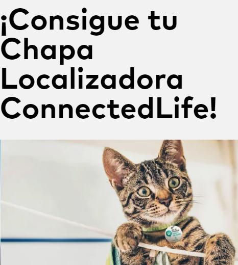 GRATIS Chapa identificadora para tu mascota
