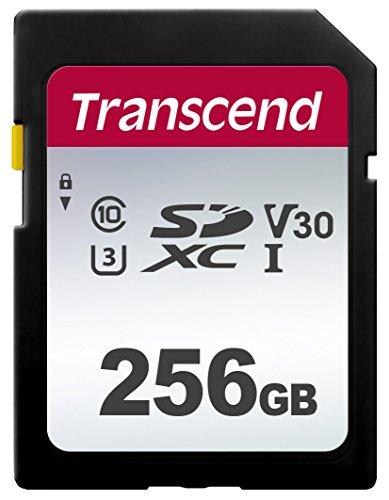 Transcend - Tarjeta de Memoria SDXC de 256 GB