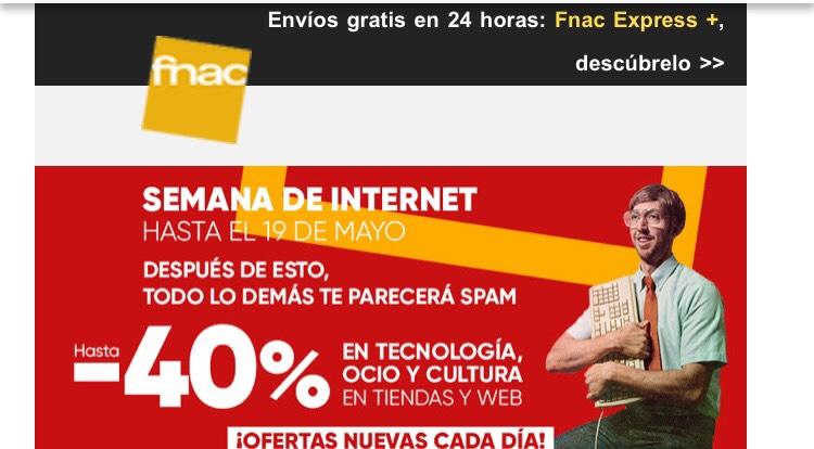 SEMANA DE INTERNET EN FNAC